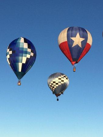 Balloon Fiesta Park: 3 mongolfiere