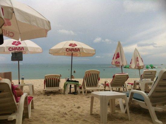 Chaba Samui Resort : Beach Side