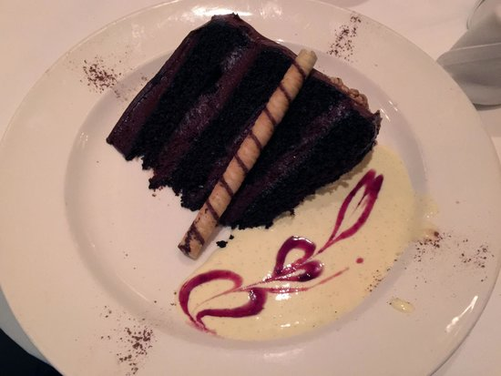 Capital Grille: Chocolate Cake