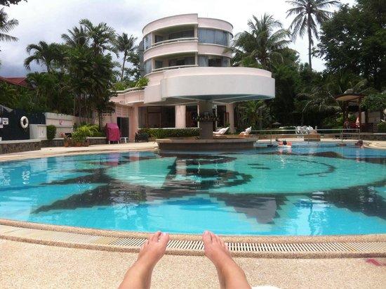 Chaba Samui Resort : @ the pool