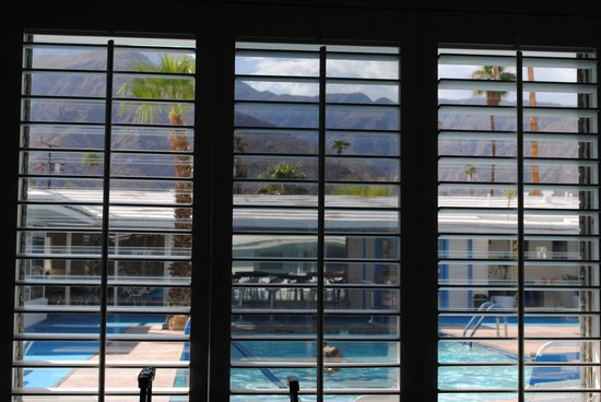 Palm Springs Rendezvous: View from Silver Screen room
