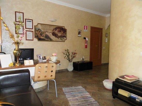 Bed And Breakfast La Porta: Reception