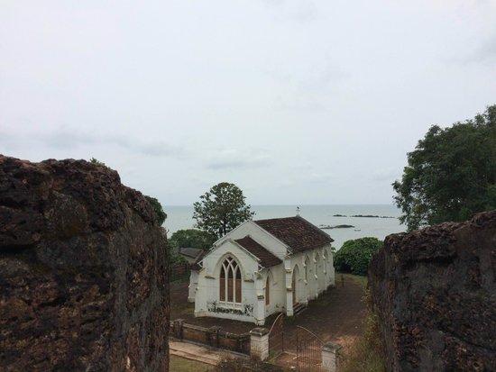Tellicherry Fort: Sea view