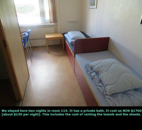 Montana Family & Youth Hostel: Room 119
