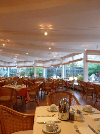 Ludwig Van Beethoven Hotel: Salle petit déjeuner