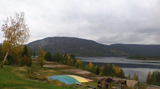 Vradal Hyttegrend: view from verander