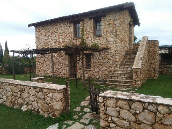 Herceg Etno selo Medjugorje: Houses are made from stone