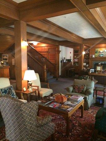 McCloud Hotel Living Area