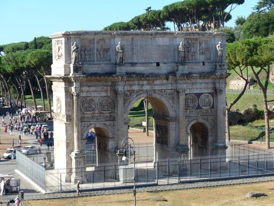 Arch Of Constantine  Obrzok Private Tour Of Rome Rm  TripAdvisor
