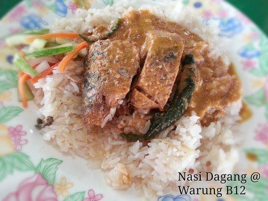 Kemaman Nasi Dagang: Nasi Daging