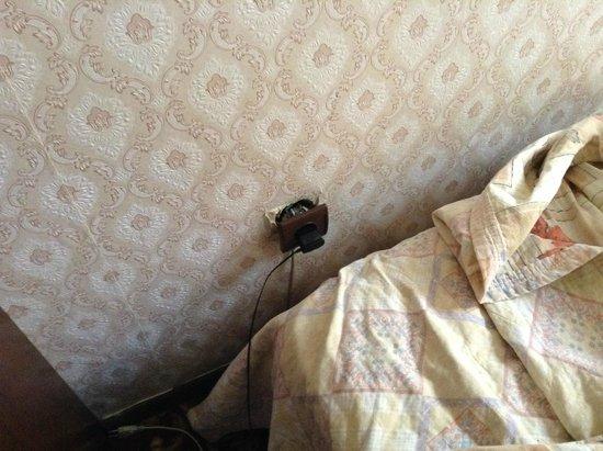 Grand Hotel de Londres: the plug