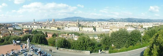 Hotel Ginori al Duomo - Italhotels Group: from piazzale michelangelo