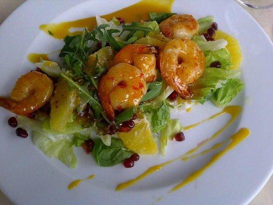 Przystan Restauracja: shrimp