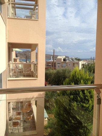 Hotel Isida : View from the balcony, Isida Residence superior