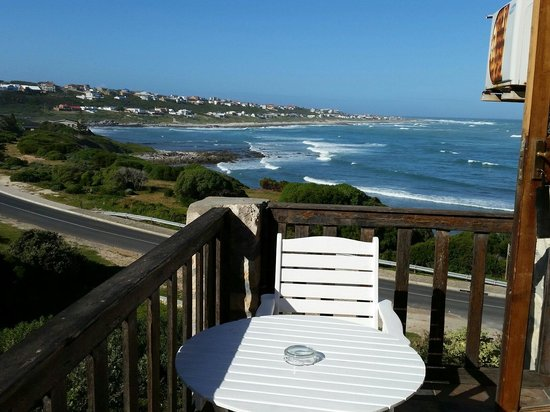 Agulhas Country Lodge : Blick vom Balkon