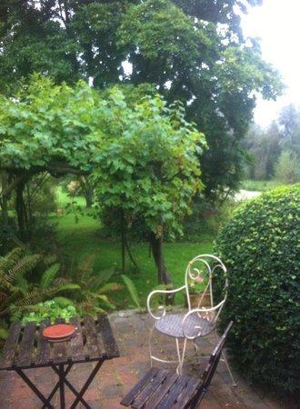 Le Jardin Sauvage : Vue de la chambre
