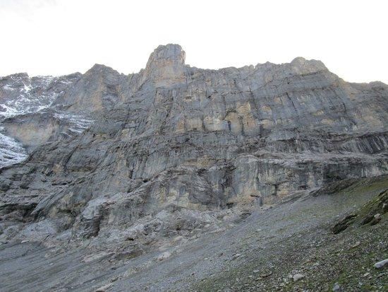 Grindelwald, Suíça: Eindrückliche Felsen