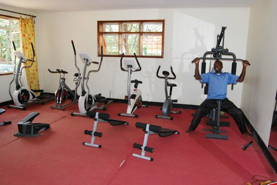 Cepha's Inn Kabale: Gym