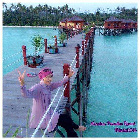 Maratua Island, Indonesia: Maratua water villa