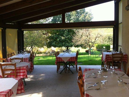 Osteria casa strachin di furlanetto mauro monfumo for Piani di casa veranda coperta