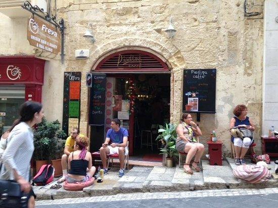 Piadina Caffe: Late breakfast at Piadone Caffe, 3 Oct 2014