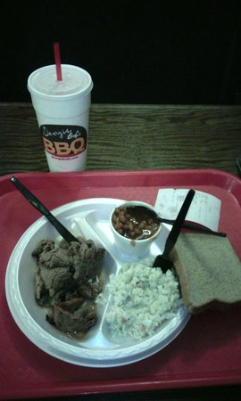 Georgia Bob's BBQ Co.: Let's eat
