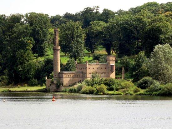 Park Babelsberg: Dampfmaschinenhaus