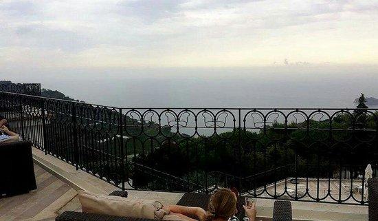 Occhio Marino Sunset Bar view