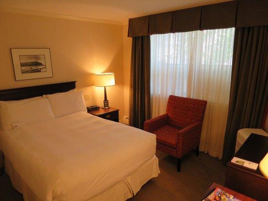 The Hotel on Pownal : 狭い部屋