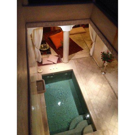 Riad Cherrata: Lounge Area