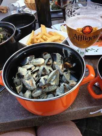 Passy Grill : Moules Dijonnaise