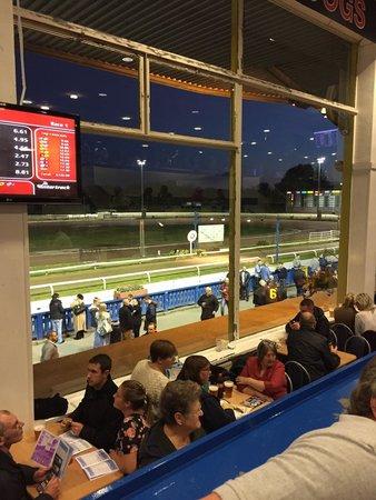 Manchester Greyhound Stadium Belle Vue: View from my seat