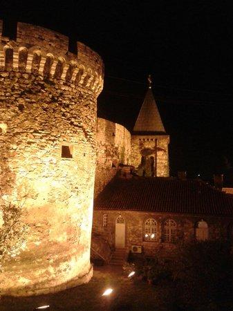 Kalemegdanska terasa: Near the entrance
