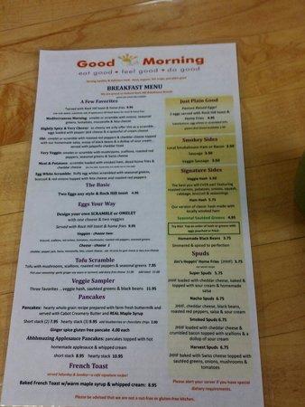 Good Morning Cafe : Ready to go withe jalapeño toaster!