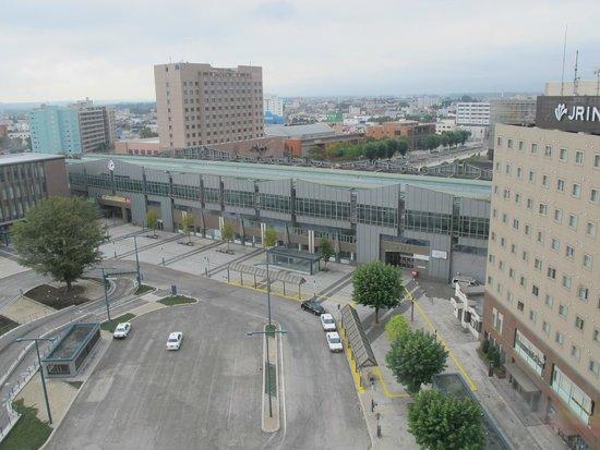 Richmond Hotel Obihiro-ekimae: room view face to JR station