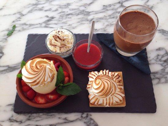 A'trego : Dessert du jour au brunch a l'atrego