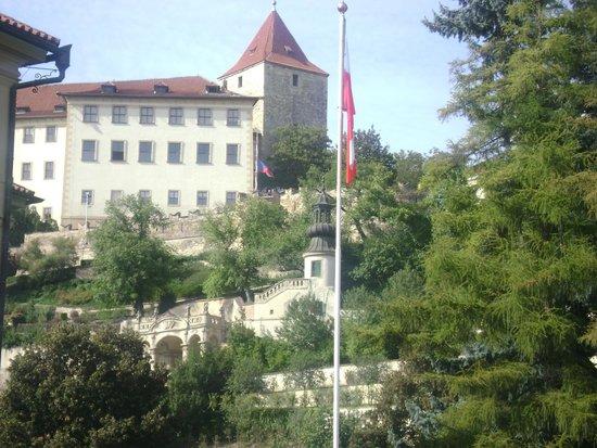 Furstenberg Garden: View from the street