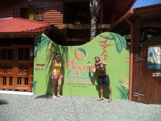 Physis Caribbean Bed & Breakfast: O melhor de Puerto Viejo!!!