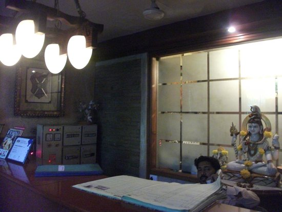Hotel Shivam : The Reception