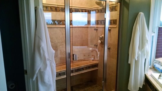 Alaska Sundance Retreat Bed and Breakfast, LLC: SHOWER