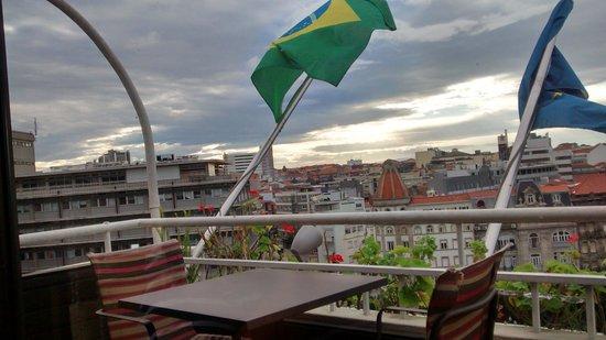 Vera Cruz Porto Hotel: Adoramos, e esta vista é maravilhosa