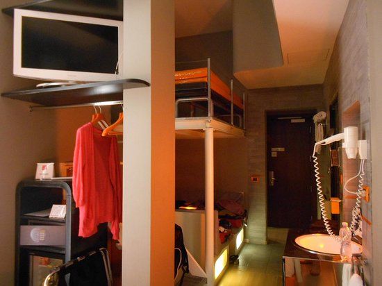 Orange Hotel: view from the bed