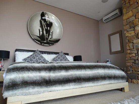 Aqua Terra: bed in de executive suite