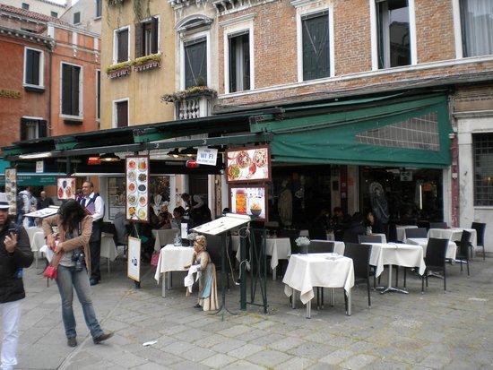 Trattoria Vittoria da Aldo : the restaurant