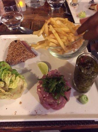 Restaurant Hotel La Toubana : Duo de thon excellent