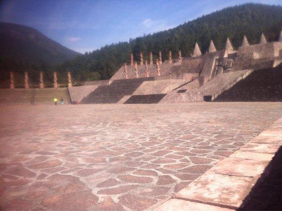 Temoaya, Meksyk: Centro ceremonial otomi