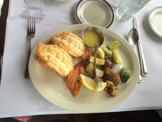 Bahrs Landing Seafood Restaurant: cooked to perfection