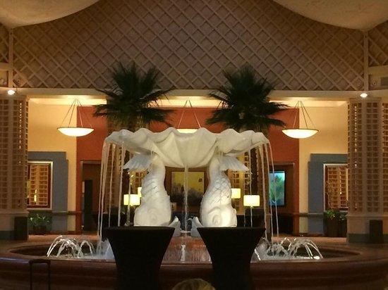 Shula's Steak House: Foyer in Dolphin hotel