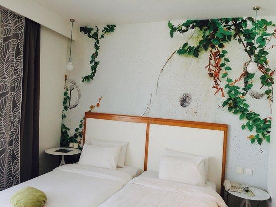 City Hotel Thessaloniki: The beds