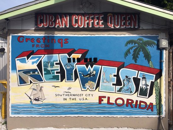 Cuban Coffee Queen : The side wall